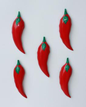 Chili Magnete 5er Set